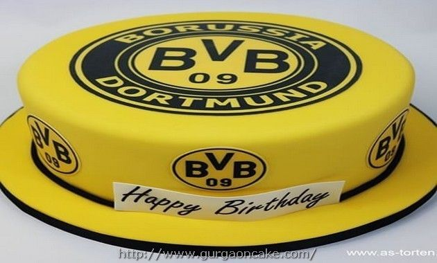 Borussia Dortmund cake design Picture  Birthday Cake