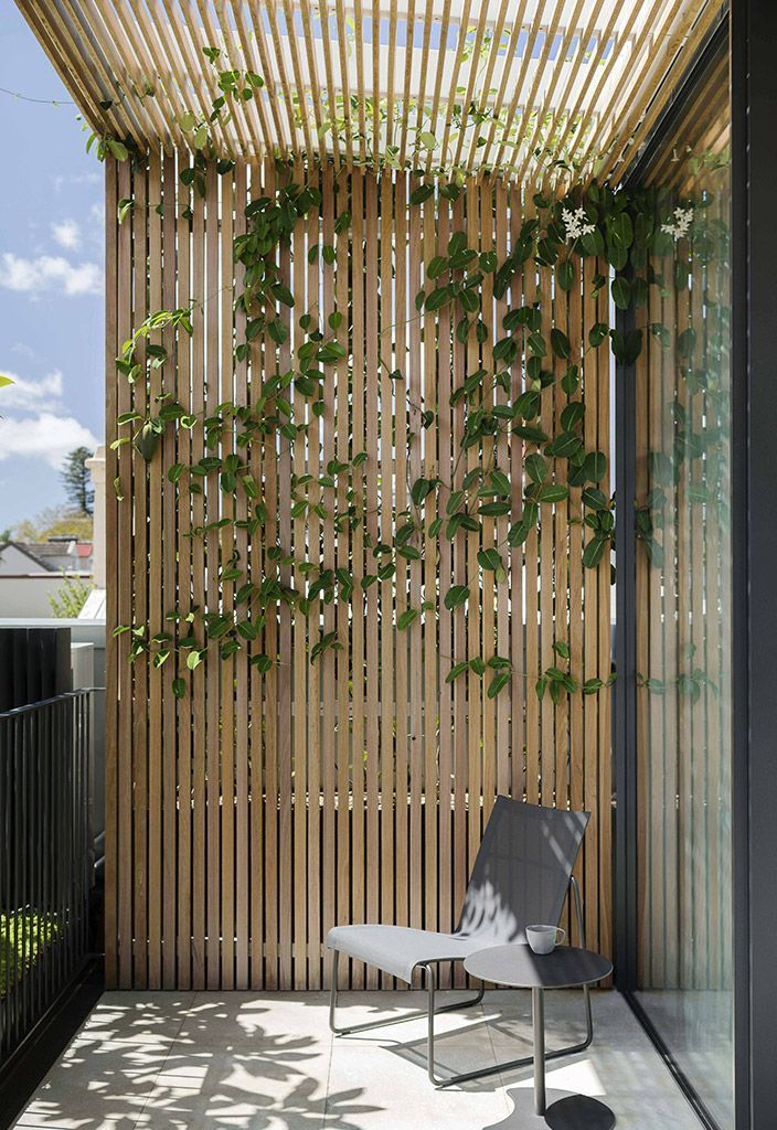 Another example for shading for the top deck. Mirror House, Woollahra – Secret G… – Ro B #landscapelightingdesign