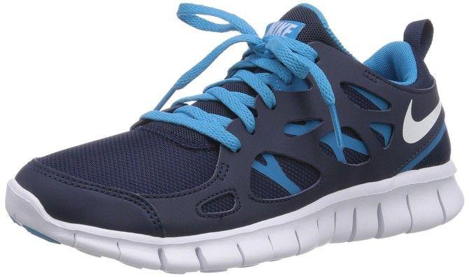 pretty nice 8fe38 b4c70 Nike Free Run 2 (gs), Running Entrainement Garçon - Bleu (midnight  Navy white-bl Lagoon 38 EU - Chaussures nike ( Partner-Link)