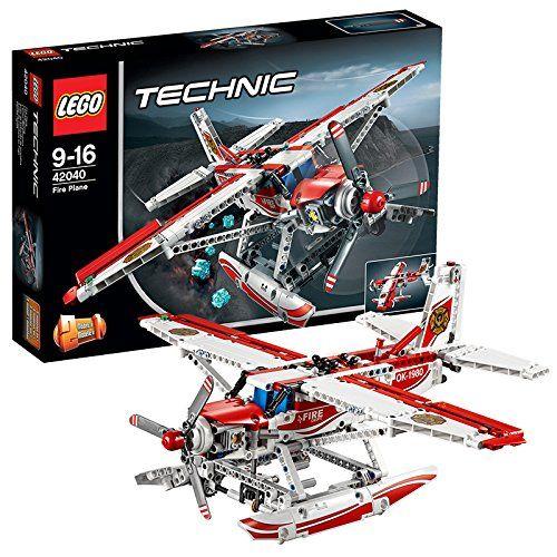 Lego Technic - 42040 - Jeu De Construction - L'avion Des Pompiers ...