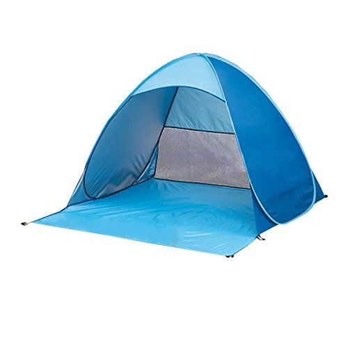 Tsndy Outdoor Blue Automatic Pop Up Instant Portable Outdoors Quick Cabana Beach Tent Sun Shelter for  sc 1 st  Pinterest & Tsndy Outdoor Blue Automatic Pop Up Instant Portable Outdoors ...