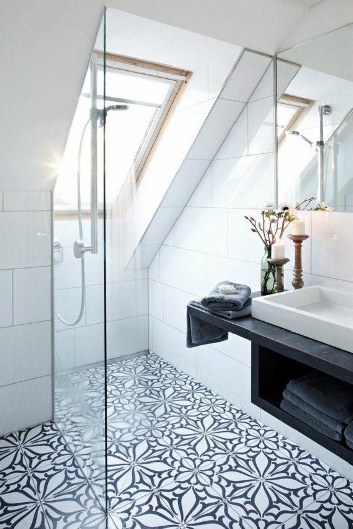 Comment décorer avec le carrelage ancien - 62 photos pour décider - salle de bain carrelee