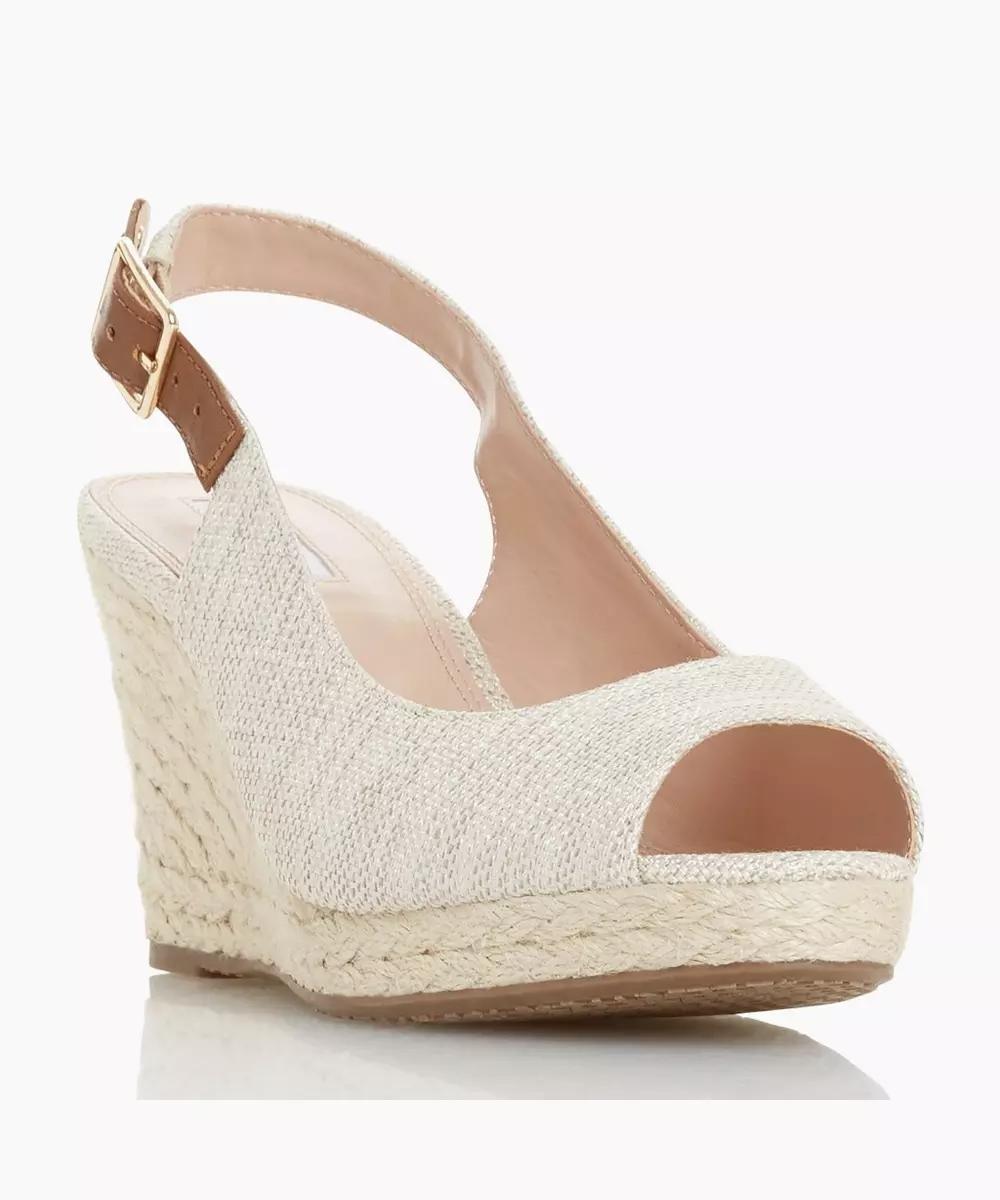 Wedge heels, Wedge heel sandals