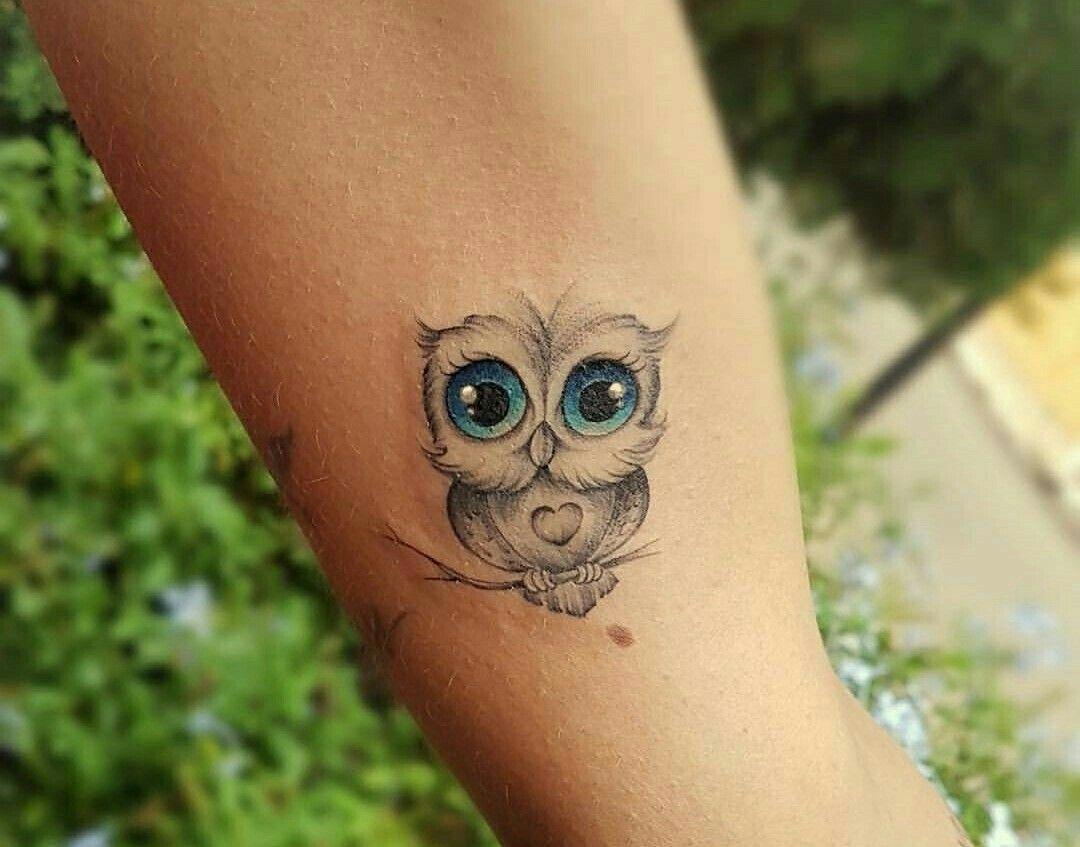 Wee Owl Tattoo Baby Owl Tattoos Cute Owl Tattoo Owl Tattoo