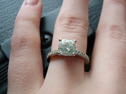 moisanite engagement rings should look into moissanite engagement ring as a possible - Moissanite Wedding Rings