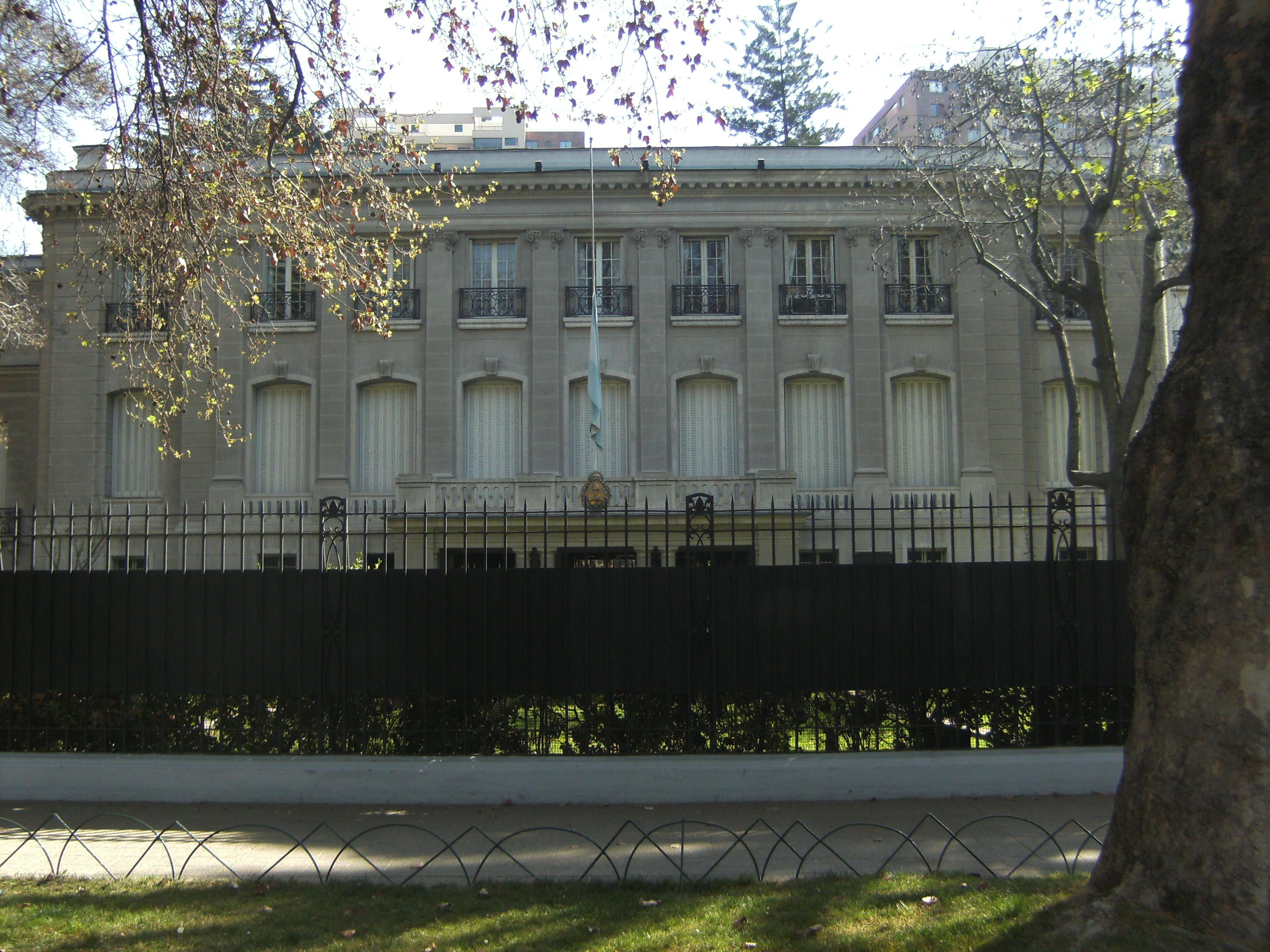Embajada de Argentina en Chile Argentina, Chile, House