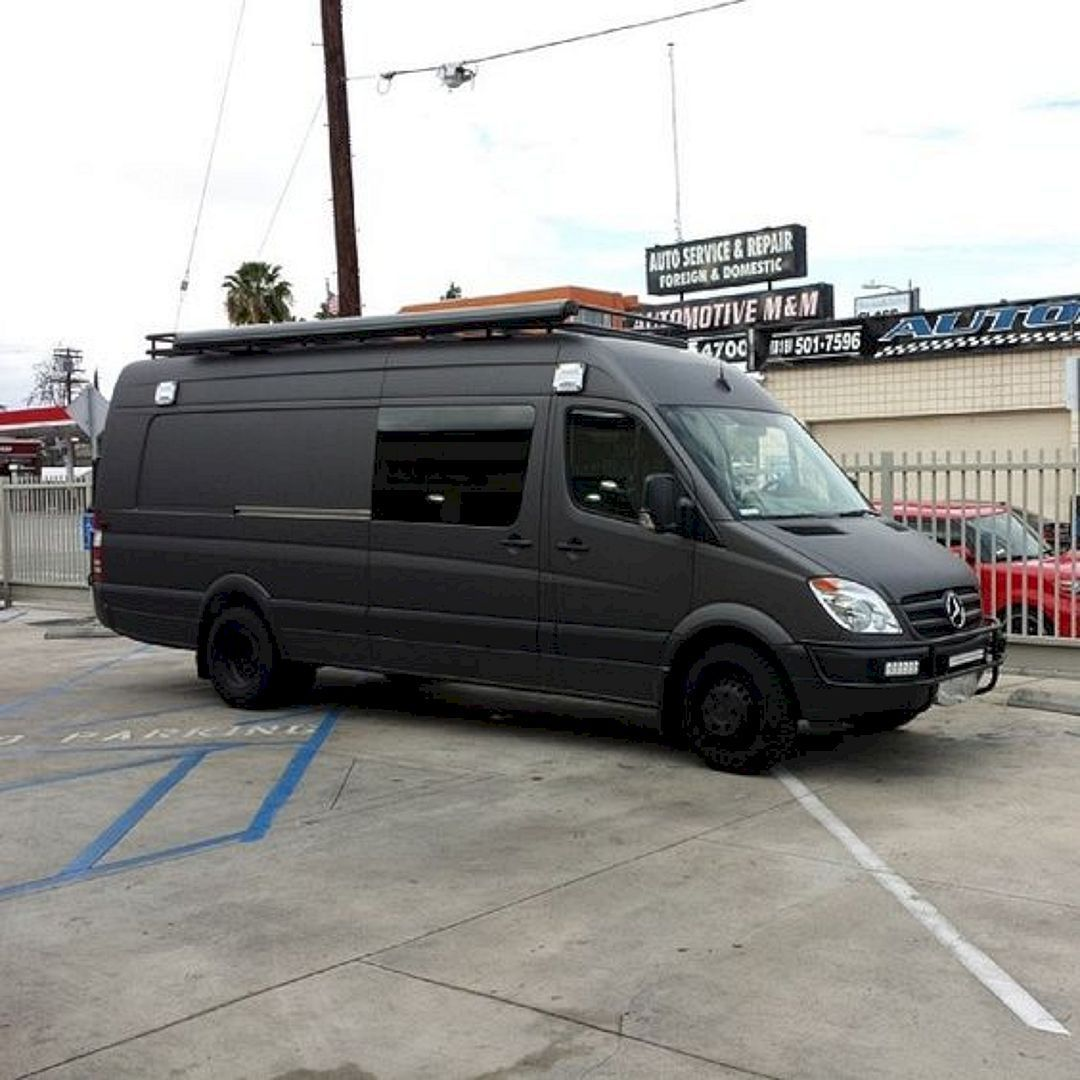 The Best 4x4 Mercedes Sprinter Hacks Remodel And Conversion 63 Ideas