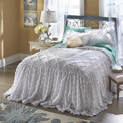 Angelica Ruffle Chenille Bedspread Bed Spreads Home Decor Bedroom Chenille Bedspread