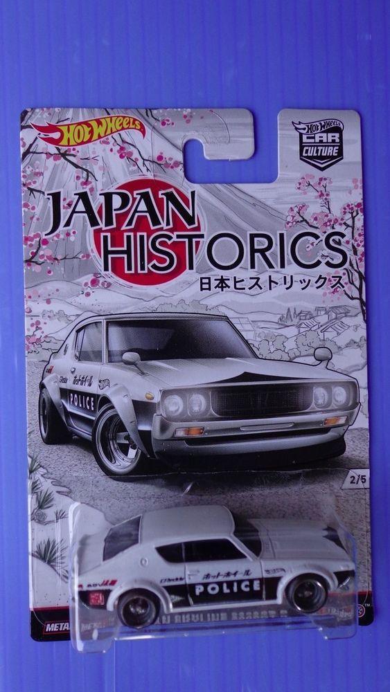 2016hot Wheels Nissan Skyline 2000 Gt R Japan Historics Real