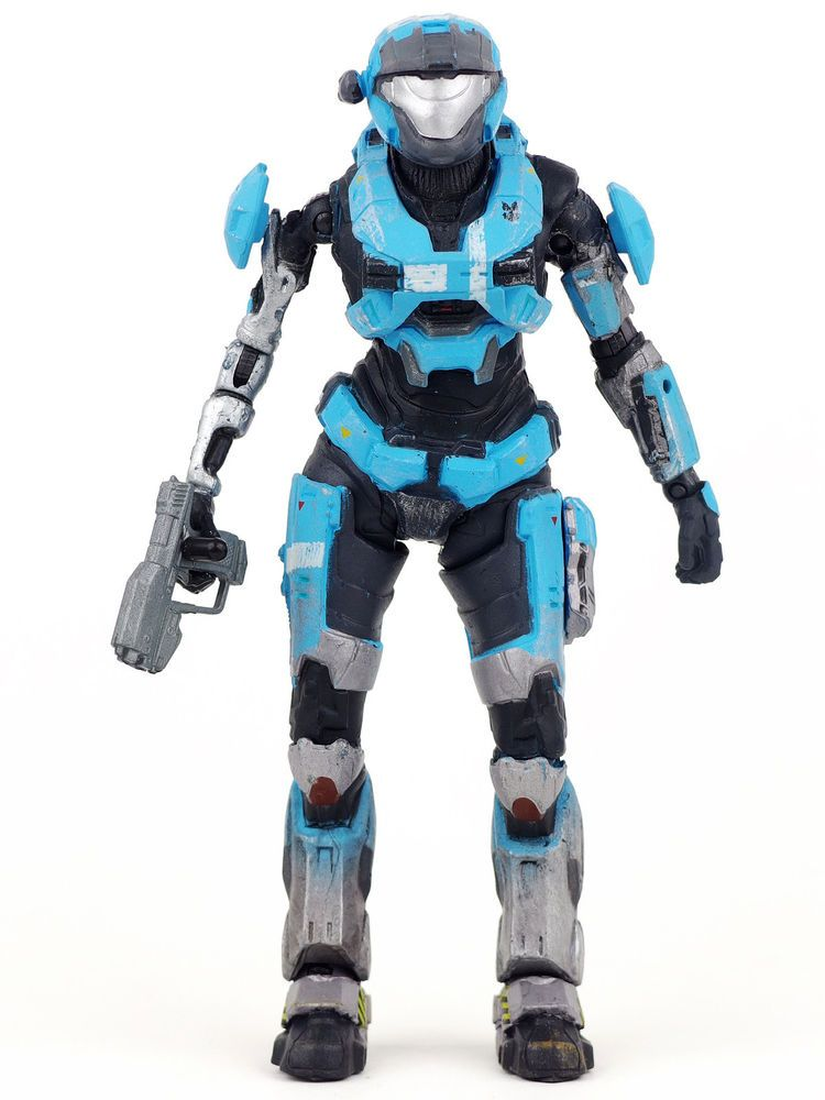 halo reach series 2 spartan kat action figure noble two 2 complete mcfarlane toy mcfarlanetoys - Halo Reach Halloween Costume