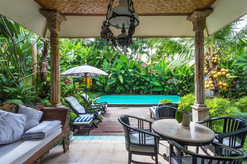 Land villas for sale rent in ubud bali tropical