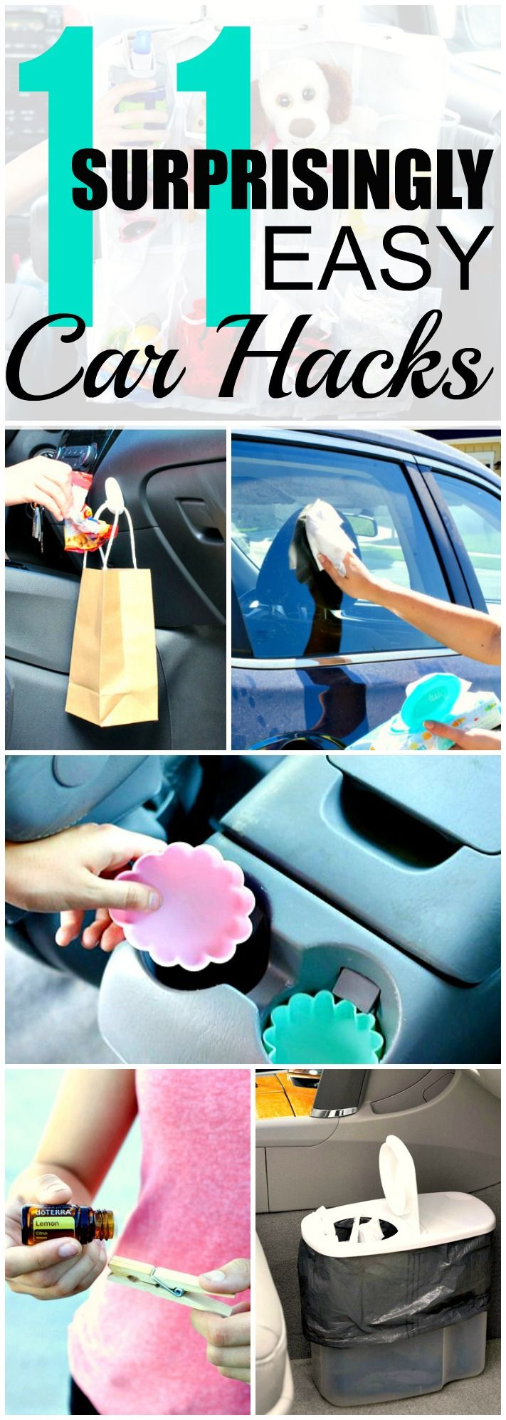 10 Clever Car Hacks That\'ll Make Life Easier | Life changing ...