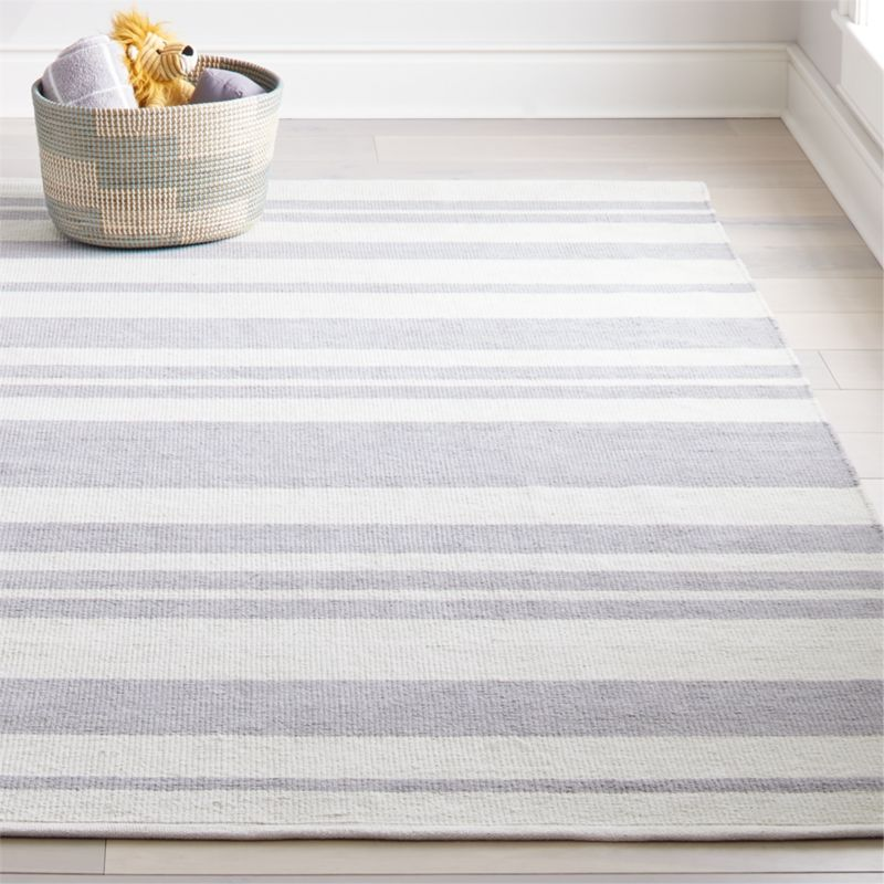 Barcode Grey Striped Rug Swatch In 2020 Grey Striped Rug Striped Rug Blue Striped Rug