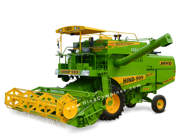 HIND 999 - Multicrop Self Propelled Combine Harvester
