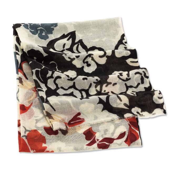 Just found this Large Floral-Print Scarf - Large Floral-Print Scarf -- Orvis on Orvis.com!