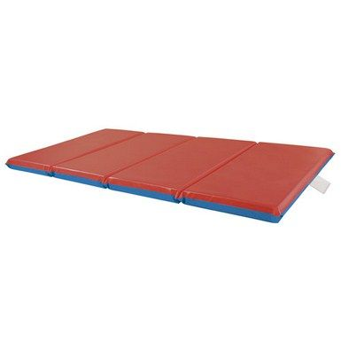 Elr 0576 4 Section Premium Folding Rest Mat 2 5 Pack Childhood Kids Cot Nap Mat