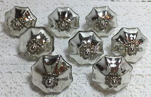 8-Chic-Mercury-Glass-Scallop-Shabby-Knobs-Cabinet-Dresser-Hardware