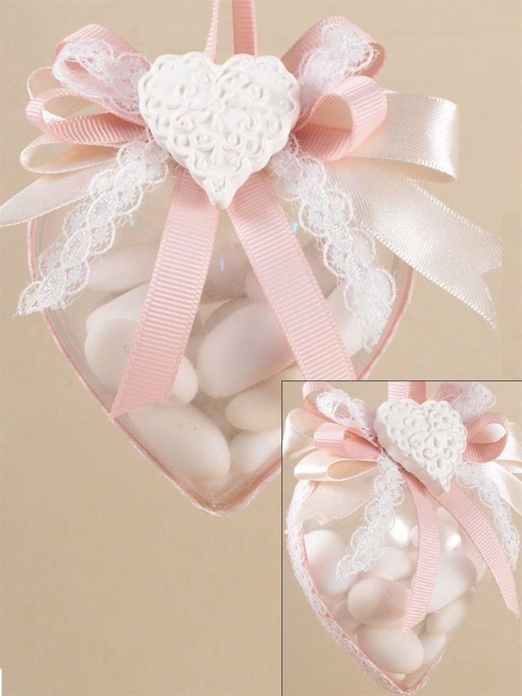 Scatolina Plexiglass Cuore Nastro Confetti Gessetti Valentine Centerpieces Diy Baby Stuff Italian Wedding Favors