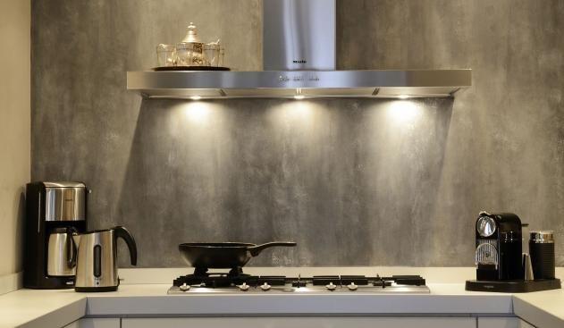 Achterwand Keuken Ideas : Kalkverf achterwand keuken met sealer house pinterest kitchens