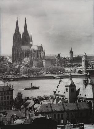August Sander The Cathedral Jesuit Church And St Alban S 1928 August Sander History Of Photography Art Institute Of Chicago