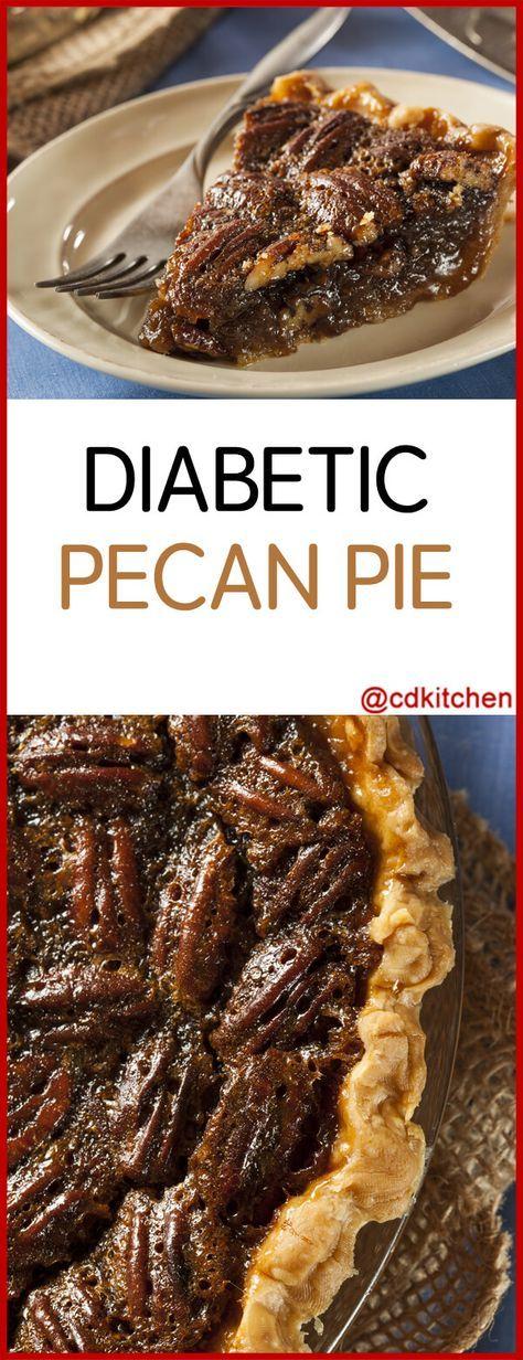 Diabetic Pecan Pie Recipe | CDKitchen.com