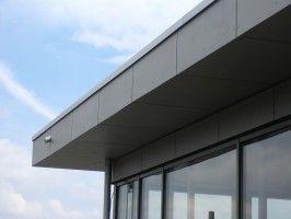Flachdach Randverkleidung Flachdach Garage Dach Dach