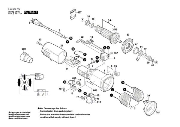 Bosch 1250DEVS Illustration