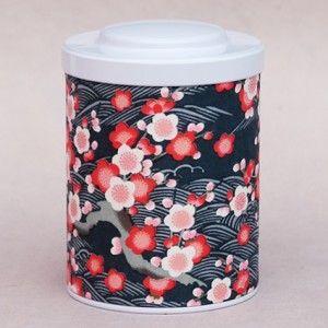 11,5 cm de hauteur sur 8,3 cm de diamètre.Contenance de 125 gr de thé.