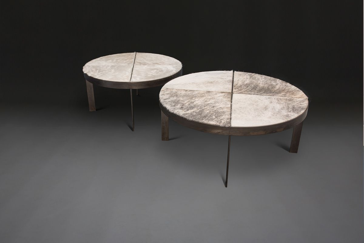 Bruges Round Coffee Tables By Verellen Laminate Furniture