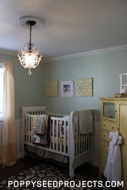Sherwin Williams Frostwork Girl Nursery Nursery