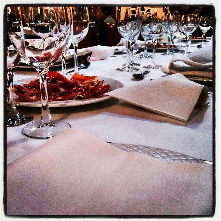 Estamos listos! Empieza el #Show #Gastronomico y #CatadeVino de hoy! www.bspwine.com #Enoturismo #Priorat