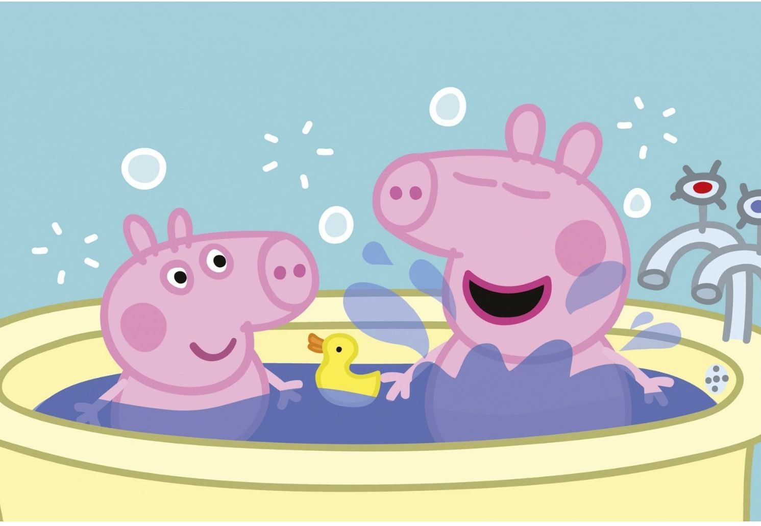 Peppa Pig Cartoon Images Wallpaper
