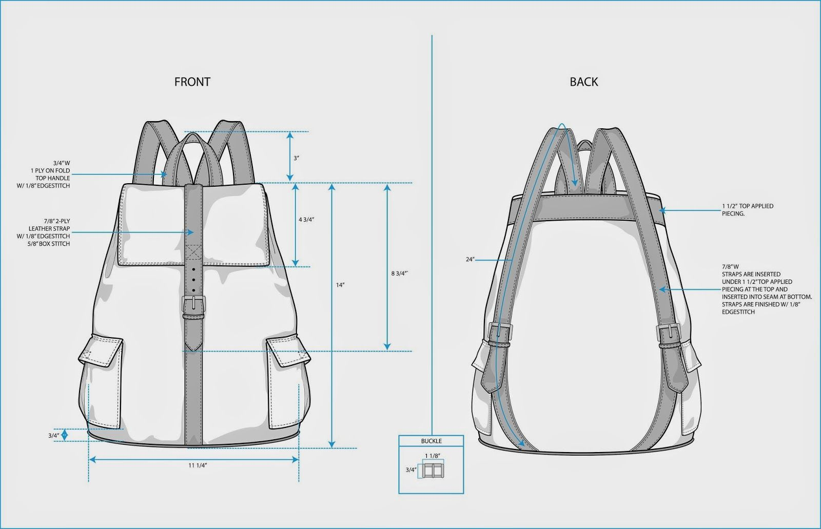 The Spinsterhood Diaries Sample Fashion Project Backpack Teck Pack