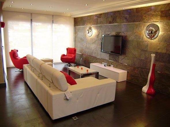 Decorar paredes con paneles de pvc4 espacios y - Decoracion con paneles ...