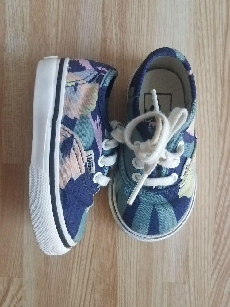 7e18dcb69b8e5b Vans 4T Girls Floral Shoes EUC  fashion  clothing  shoes  accessories   babytoddlerclothing