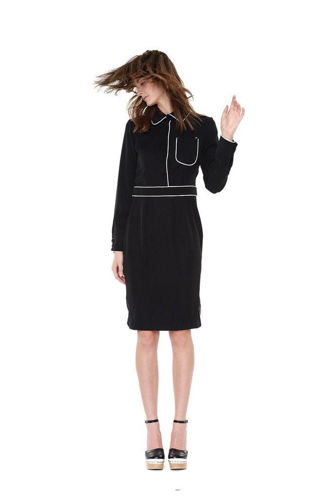 Angeles Dress - Black