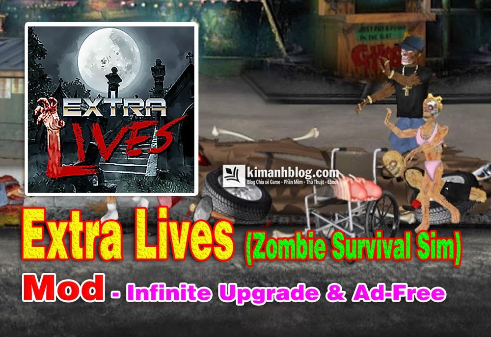 Extra Lives Infinite Mod Upgrade Ad Free Game Tử