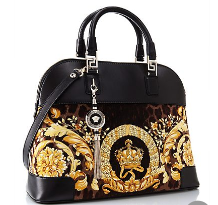 c49256eee0b7 This beautiful Versace purse is called