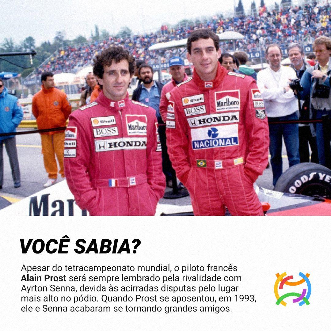 Alain Prost Historia Titulos E Rivalidade Com Ayrton Senna Em