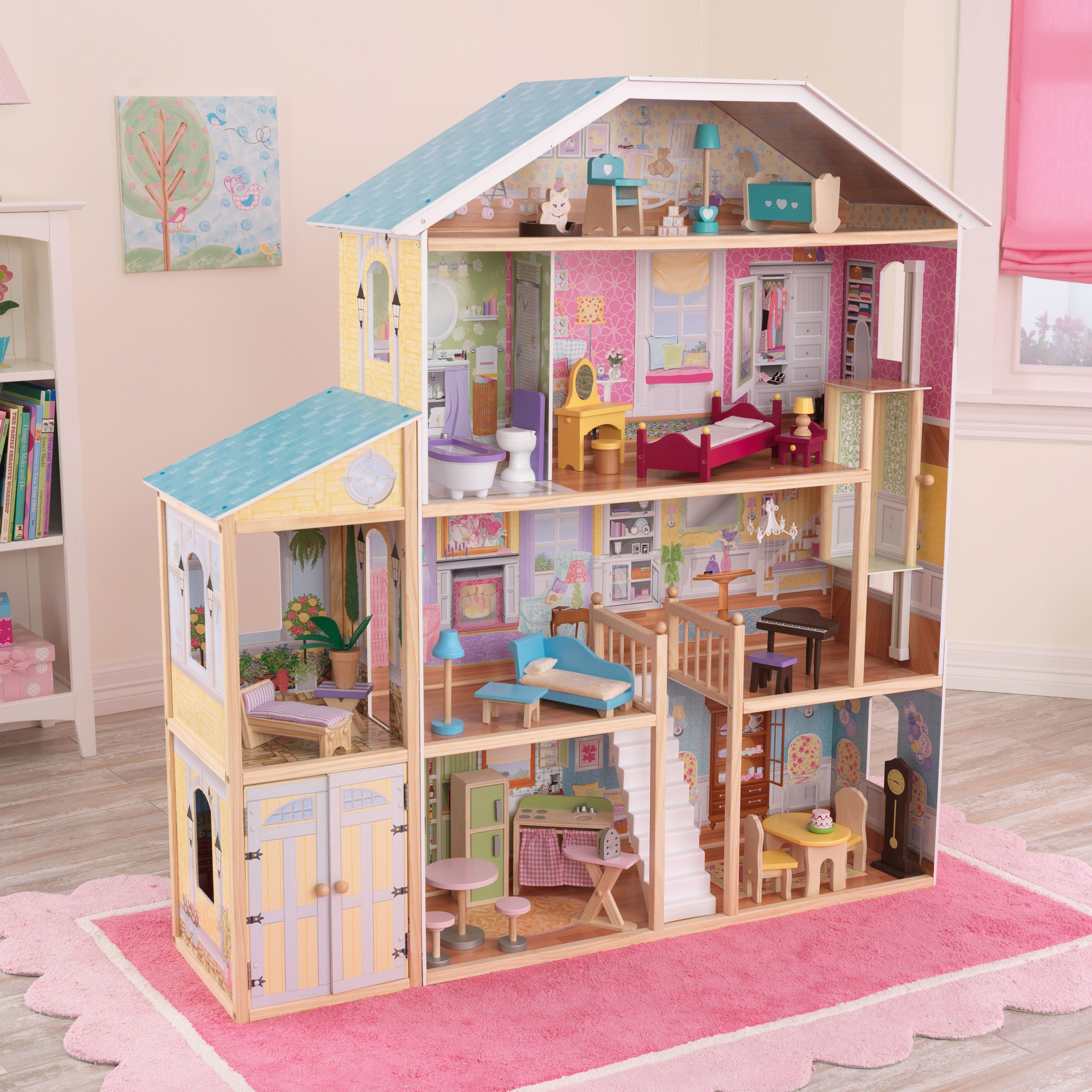 Kidkraft Majestic 4 Story Mansion Dollhouse  65252 - From