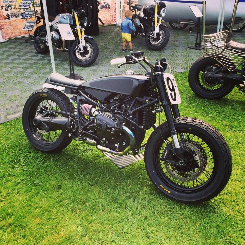 Blitz Motorcycles based on BMW 90 || via 4h10.com
