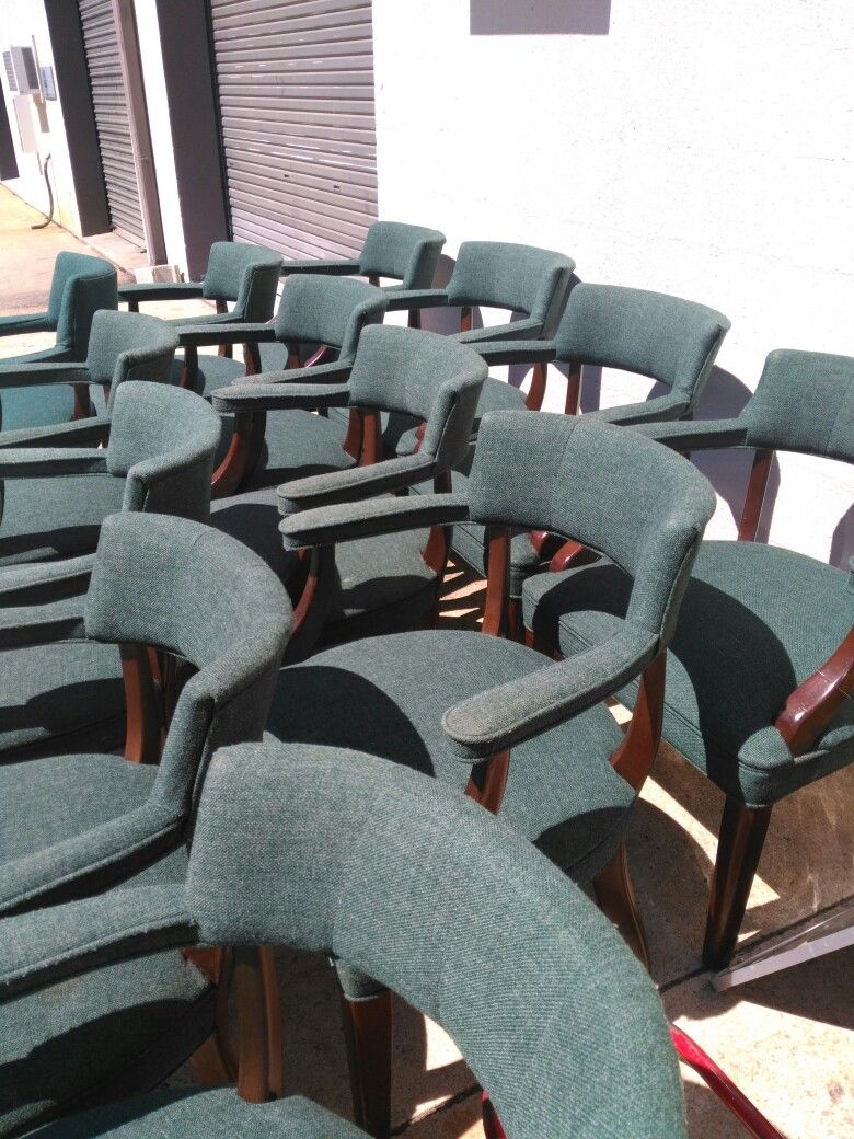 Waiting Room Chairs For Sale Painting Chair Fabric 15 Antique Area Made By The Boling Company Each