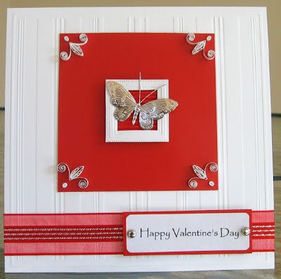 All Things Paper Quilled Valentine Card Tutorial  Quilling