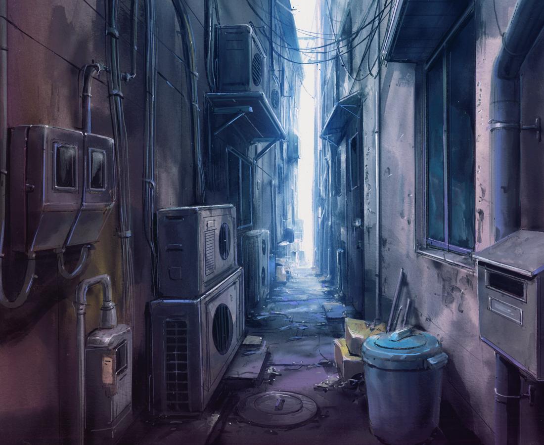 City+Anime+Landscape Animation Backgrounds Pinterest