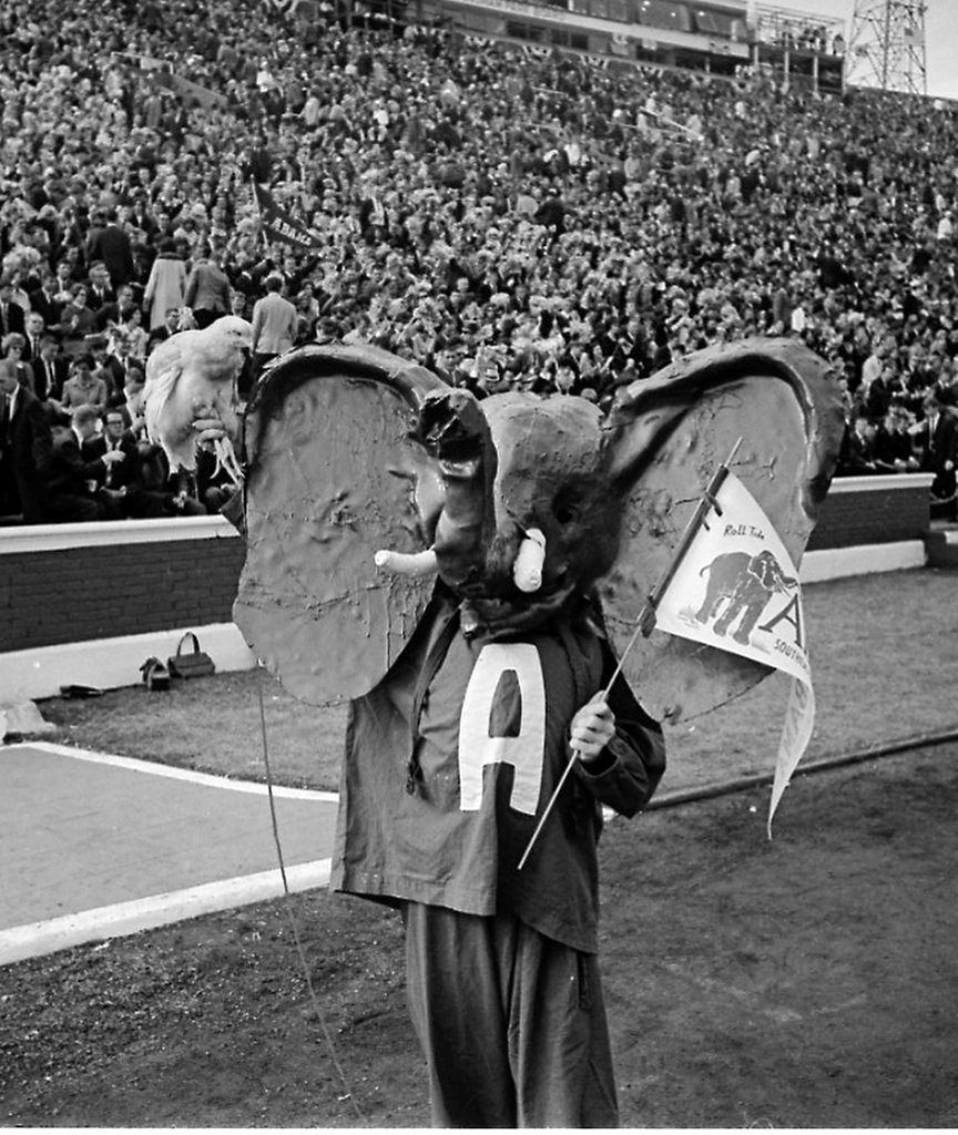 The Way We Cheered See Vintage Images Of Iron Bowl Fans Alabama