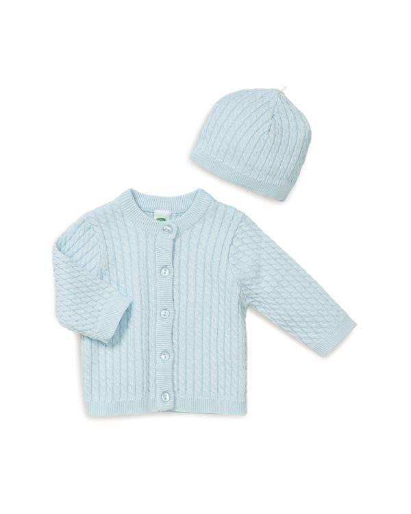 a57e3d8edece Little Me Boys  Cable-Knit Cardigan   Hat Set - Baby
