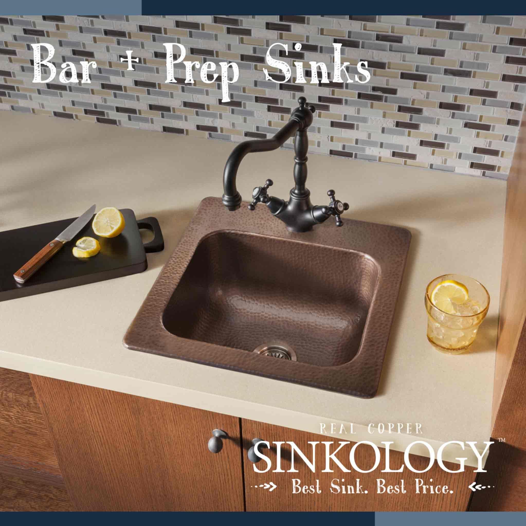 Luxury Bar Sink Drop In