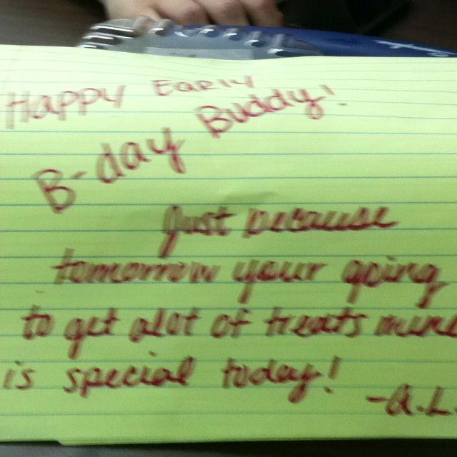 Early Birthday Gifts Birthday Fun Birthday Diy Birthday Gift Ideas