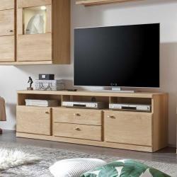 Photo of Tv Board aus Wildeiche Bianco geölt 170 cm Nature Dream