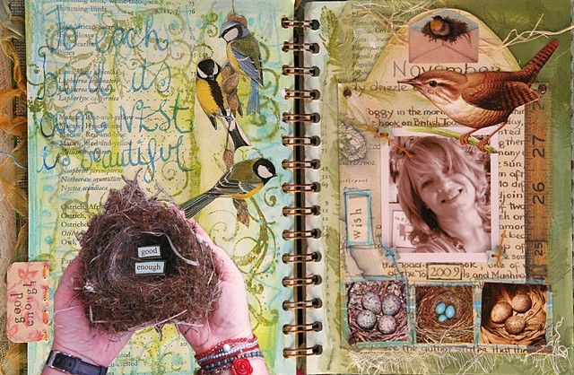 'Good enough' journal page